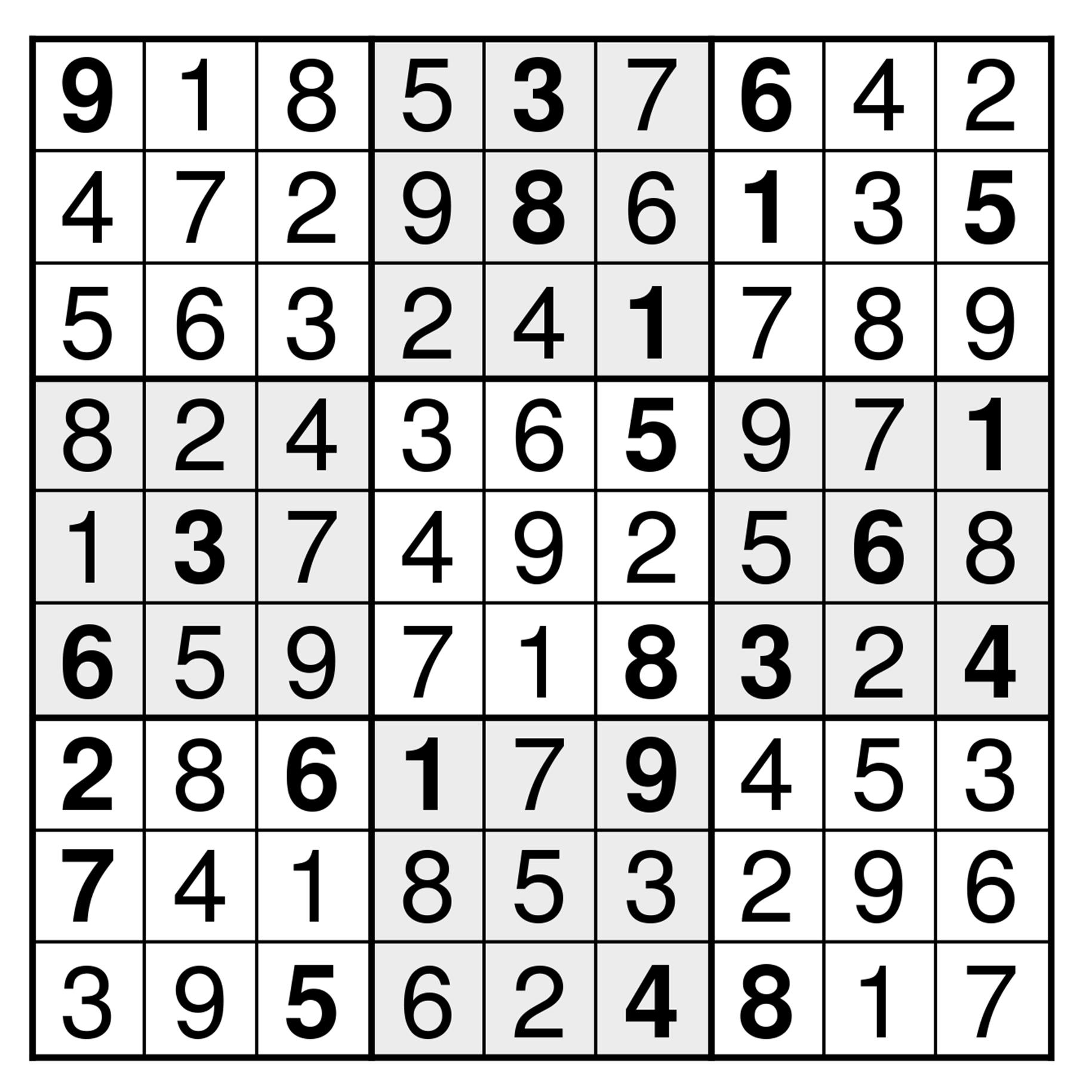 Sudokun Ratkaisu