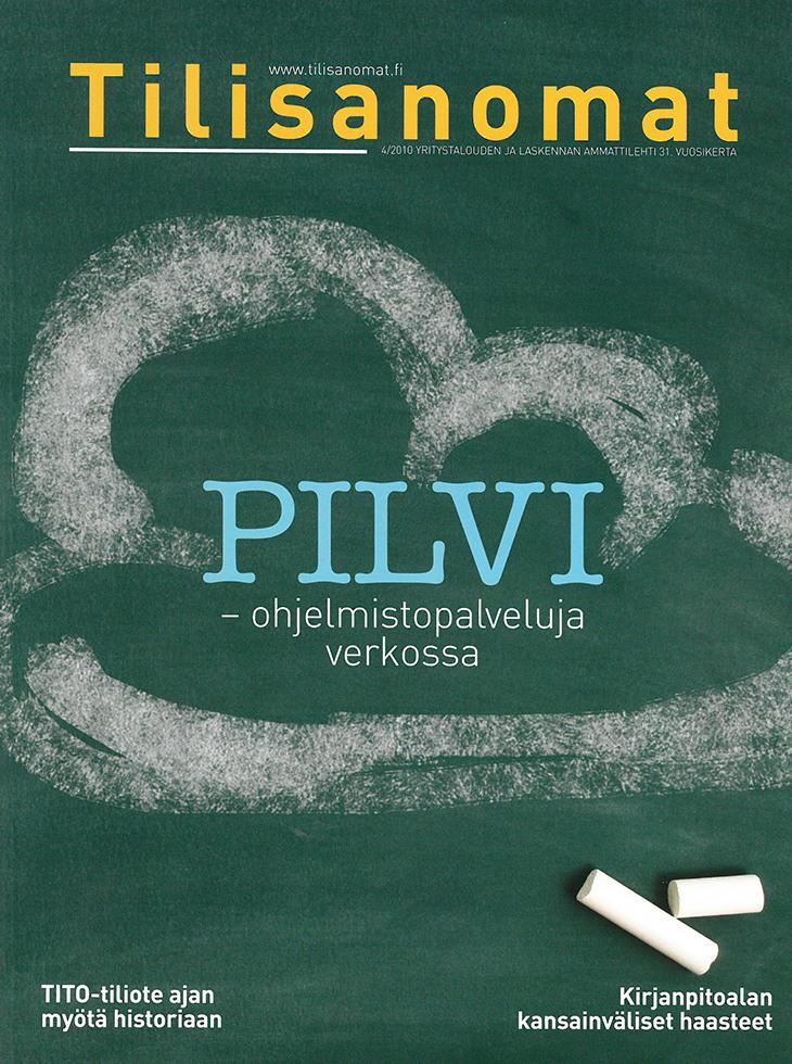 Tilisanomat-lehden kansi, numero 2/2010